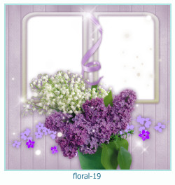 Floral Collagen Frames 19