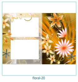 Floral Collagen Frames 20