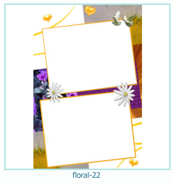 Floral Collagen Frames 22
