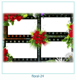 Floral Collagen Frames 24