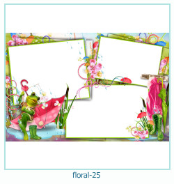 Floral Collagen Frames 25