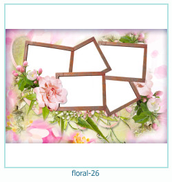 Floral Collages Frames 26