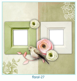 Floral Collages Frames 27