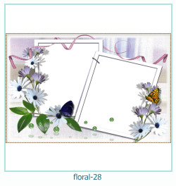 Floral Collages Frames 28