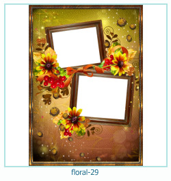 Floral Collages Frames 29