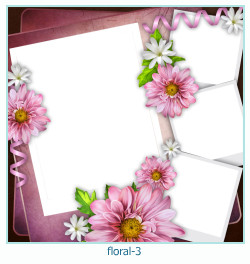 Floral Cadres Collages 3