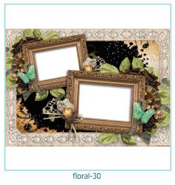 Floral Collages Frames 30