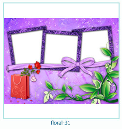 Floral Collages Frames 31