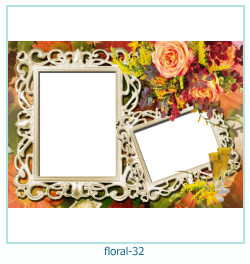 Floral Collages Frames 32
