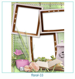 Floral Collagen Frames 33