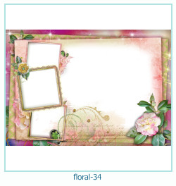 Floral Collages Frames 34