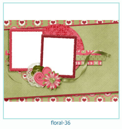 Floral Collages Frames 36