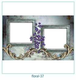 Floral Collages Frames 37