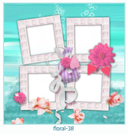 Floral Collagen Frames 38