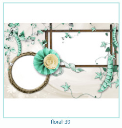 Floral Collagen Frames 39