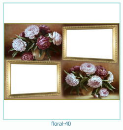 Floral Collagen Frames 40