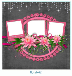 Floral Collagen Frames 42