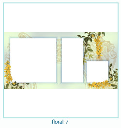Floral Collages Frames 7