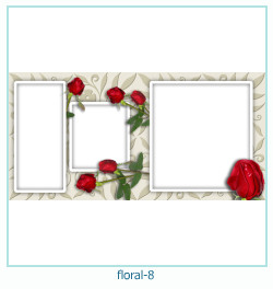 Floral Collages Frames 8