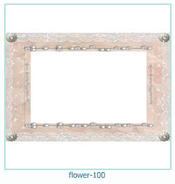 Marco de la foto de la flor 100