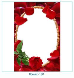 Marco de la foto de la flor 101