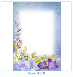 flower Photo frame 1018
