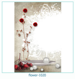 flower Photo frame 1020