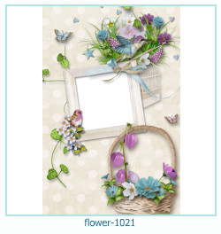 flower Photo frame 1021