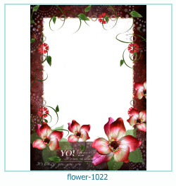 flower Photo frame 1022