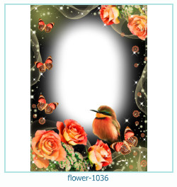 flower Photo frame 1036