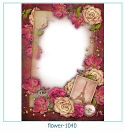 flower Photo frame 1040