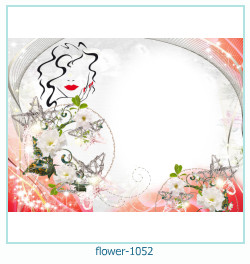 flower Photo frame 1052