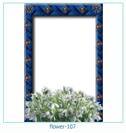 flower Photo frame 107
