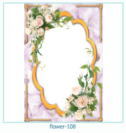 flower Photo frame 108
