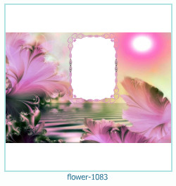 flower Photo frame 1083
