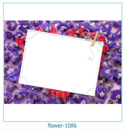 flower Photo frame 1086