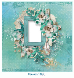 flower Photo frame 1090