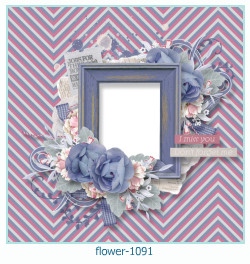 flower Photo frame 1091