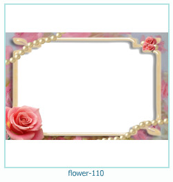 flower Photo frame 110