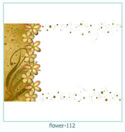 flower Photo frame 112