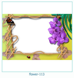flower Photo frame 113