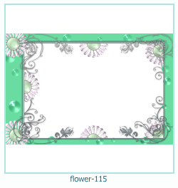 flower Photo frame 115