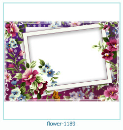 flower Photo frame 1189