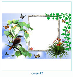 flor ano 12 ano Photo Frame