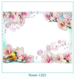flower Photo frame 1203