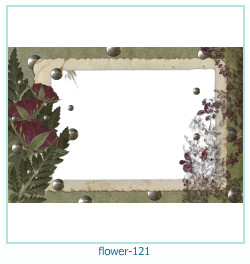 flower Photo frame 121