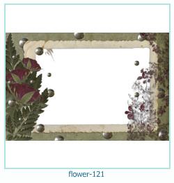 Marco de la foto de la flor 121