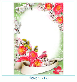 flower Photo frame 1212