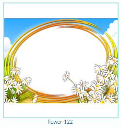 Marco de la foto de la flor 122