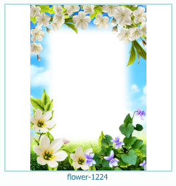 flower photo frame 1224